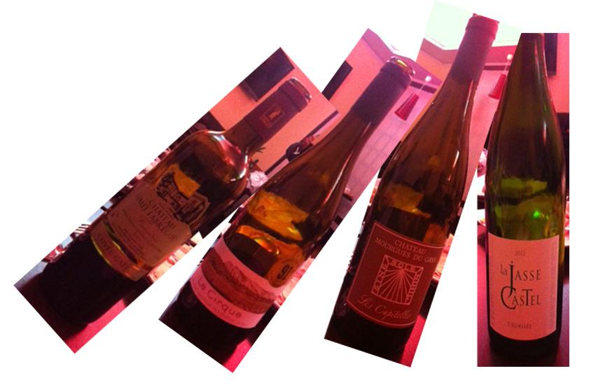 Tilting bottles