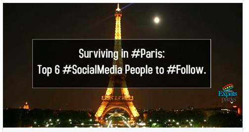Expats Paris Top Social Media Influencers
