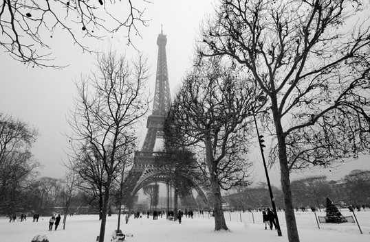 Winter in the City of Love