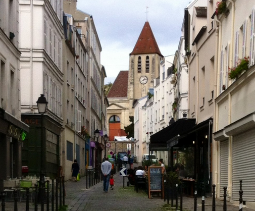 A Stroll throughout Charonne Village