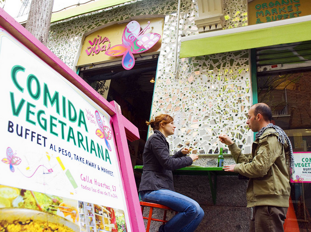 Great Vegetarian Restaurants in Madrid