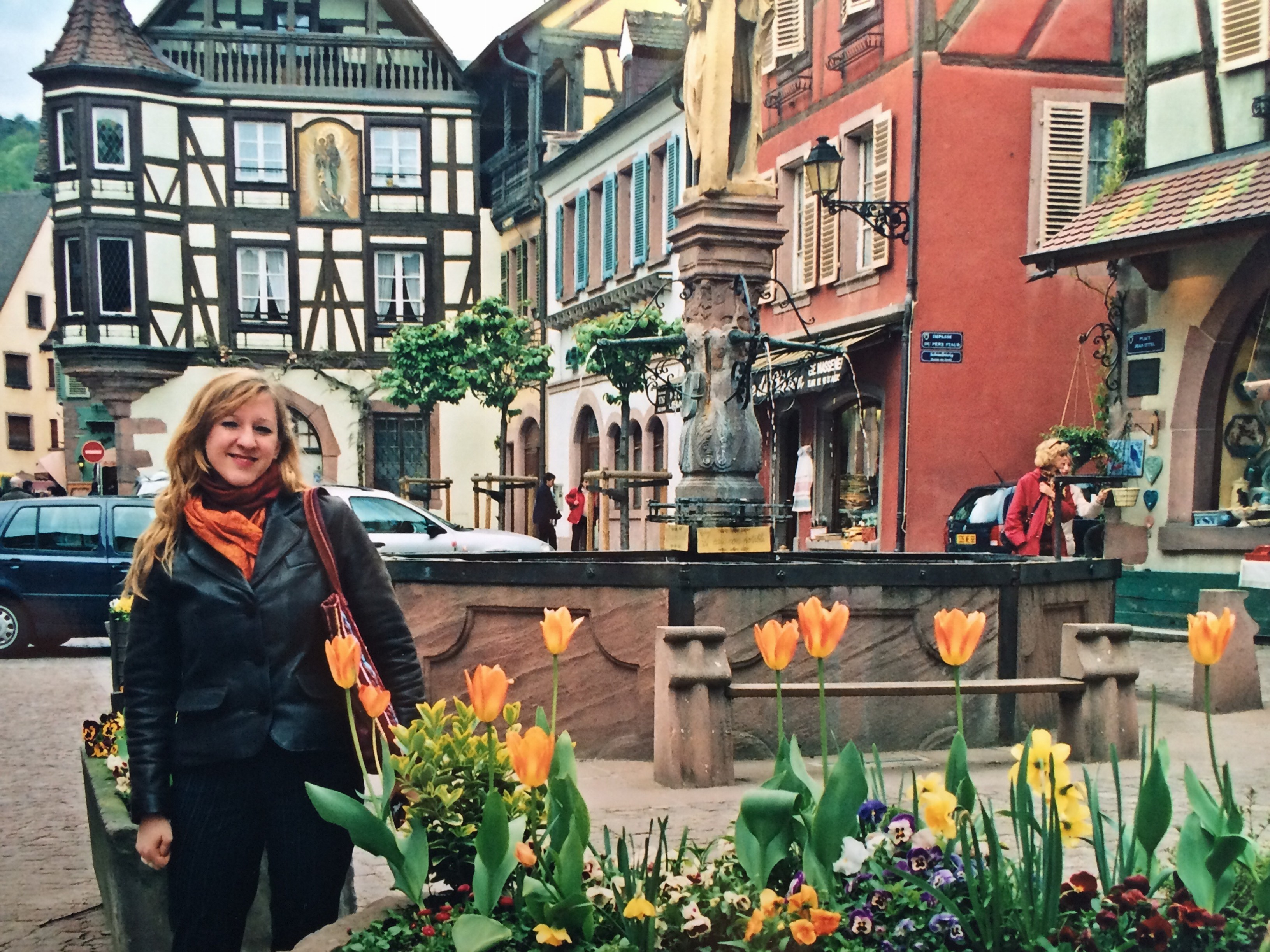 Lily in Alsace