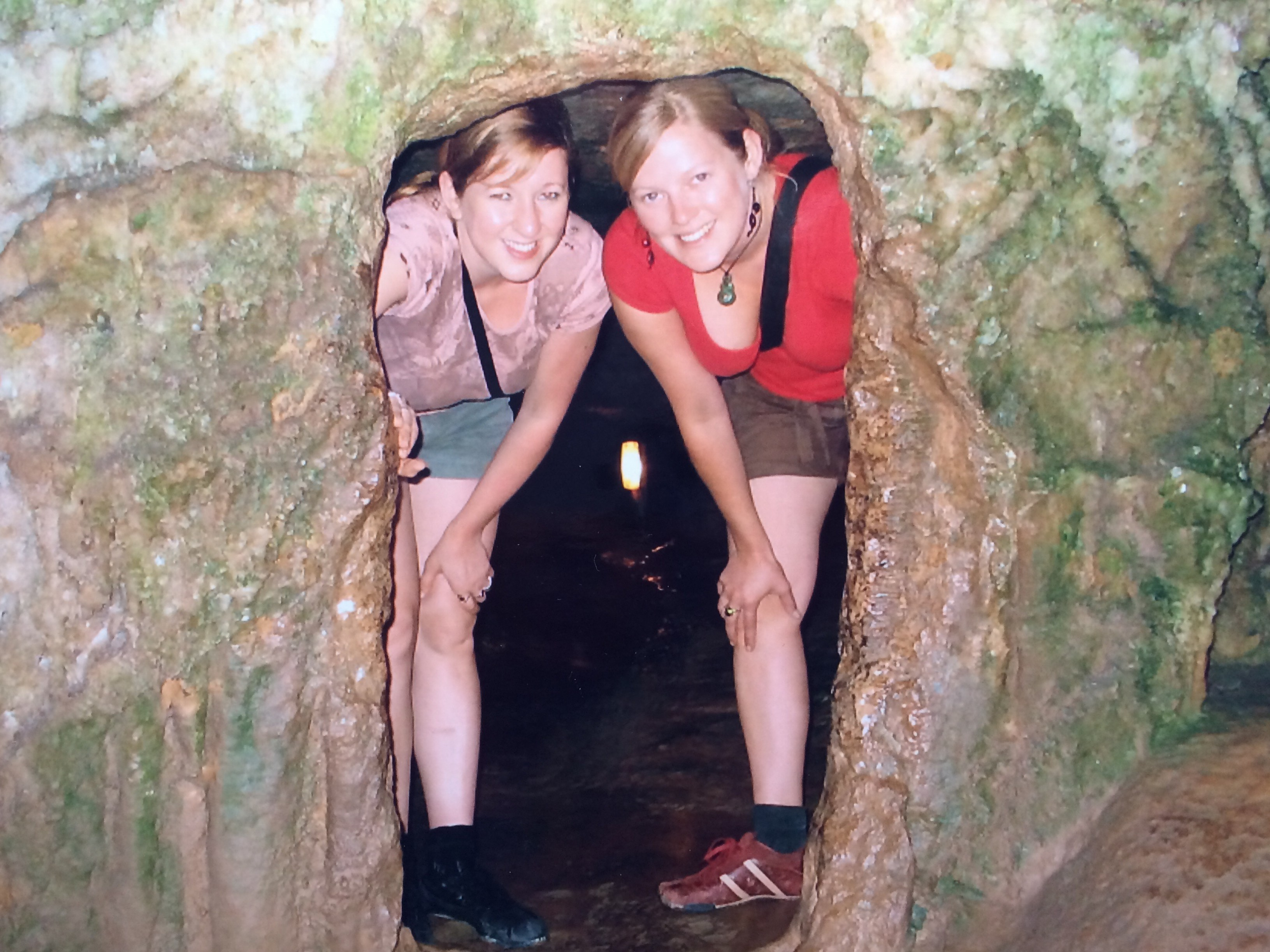 Lily and Cori in Kangoo Caves