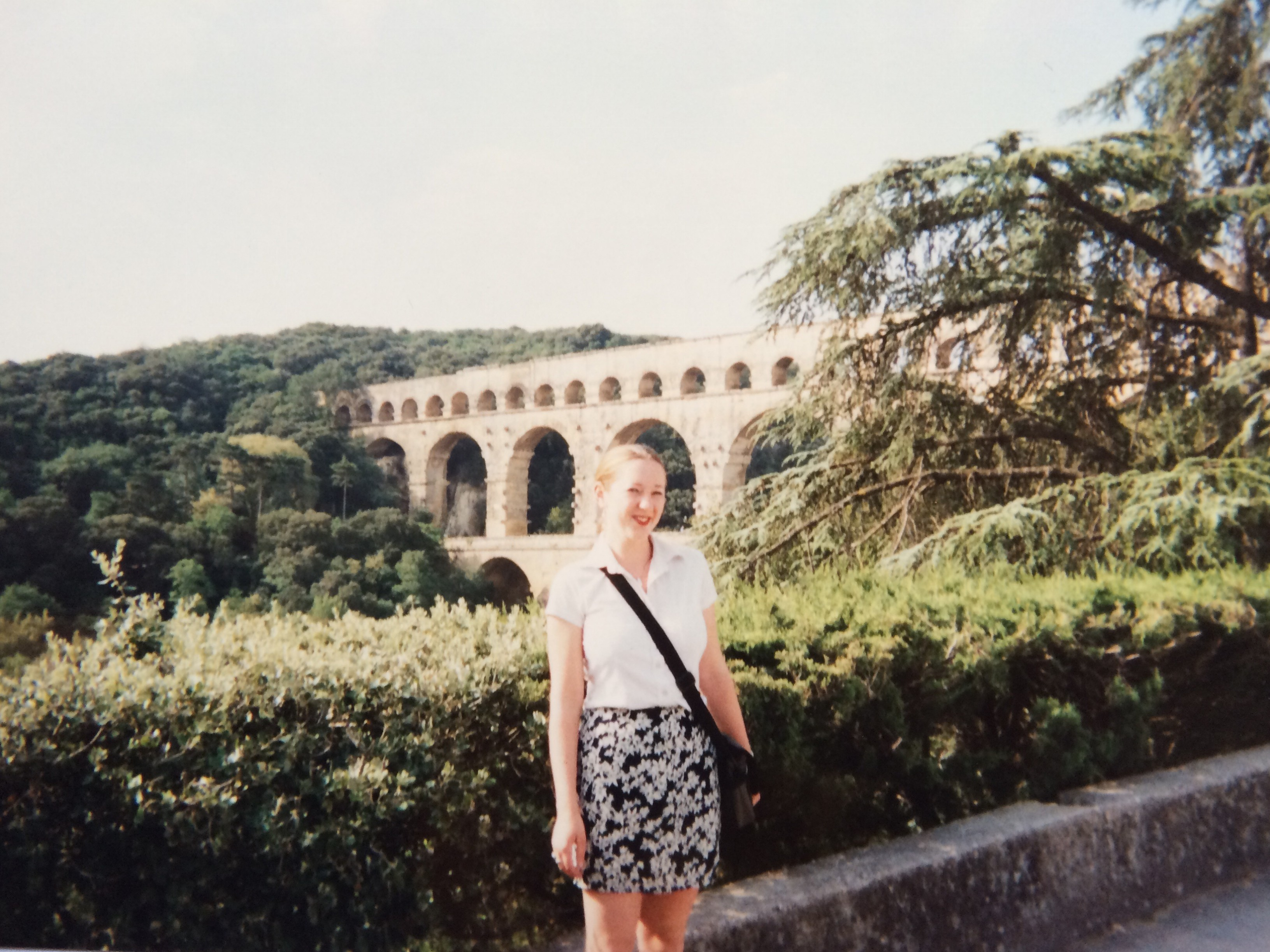 Lily Pont du Gard