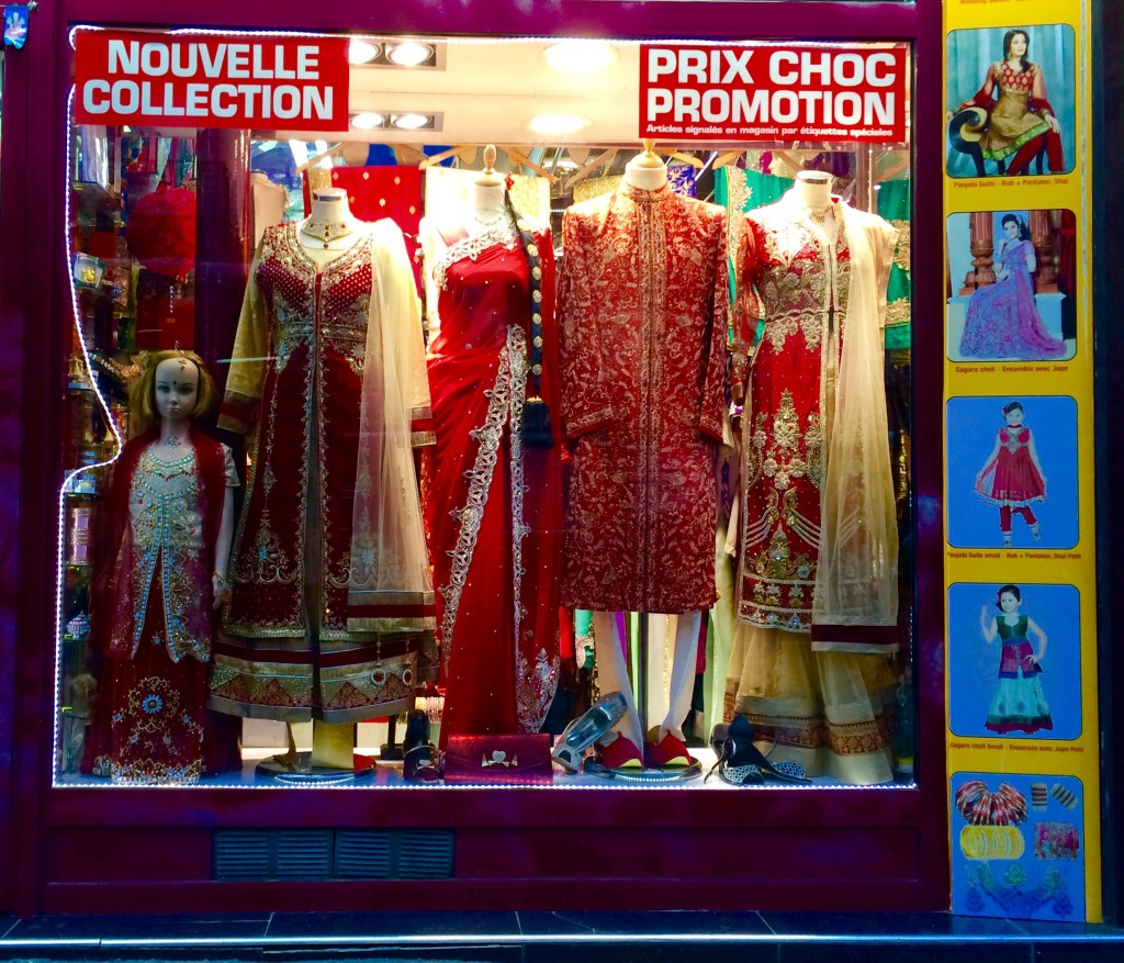Indian clothing shop La Chapelle