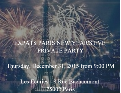 Expats Paris NYE Party