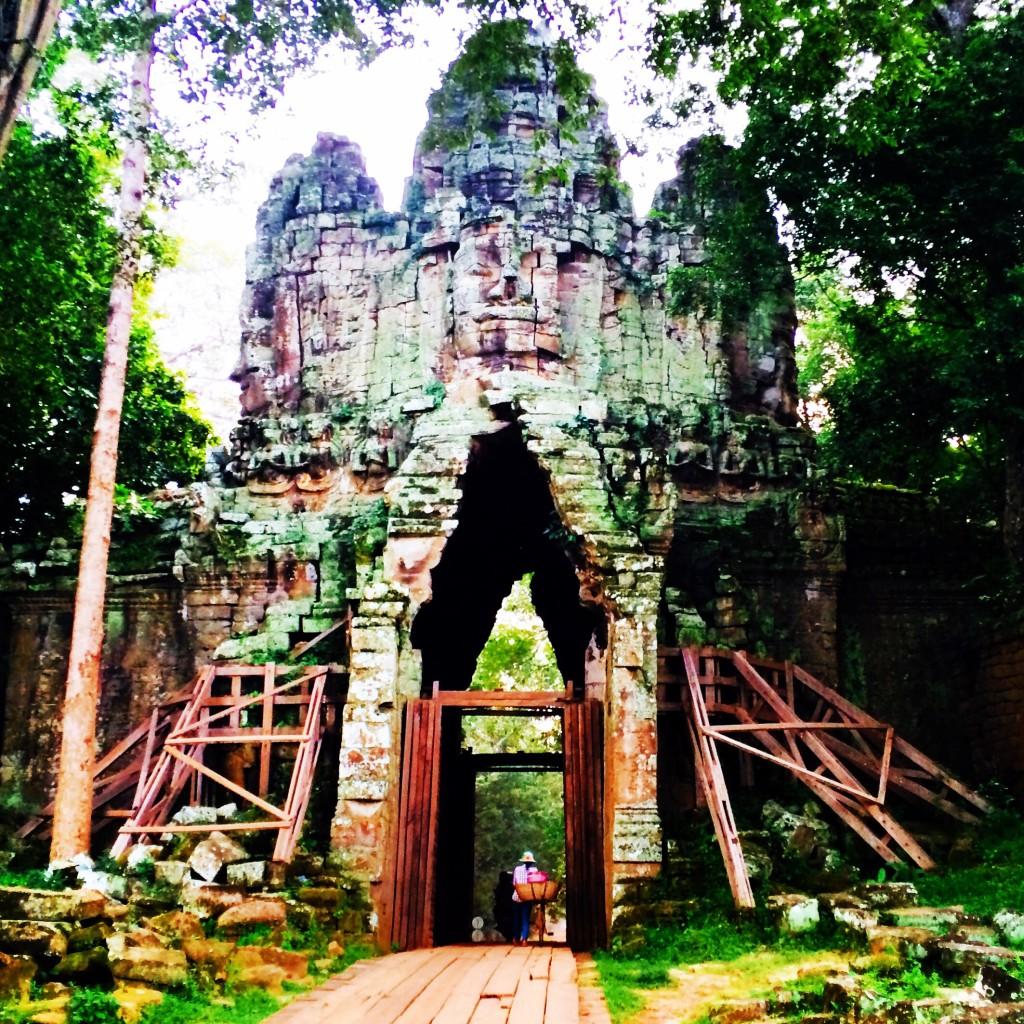 Angkor Thom secret gate