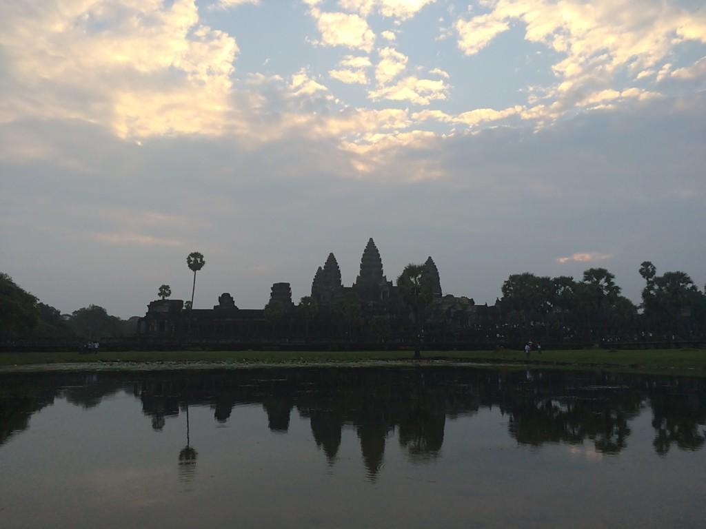 Angkor at dawn