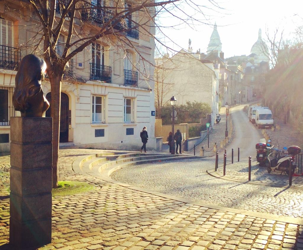 place Dalida rue de l'Abreuvoir