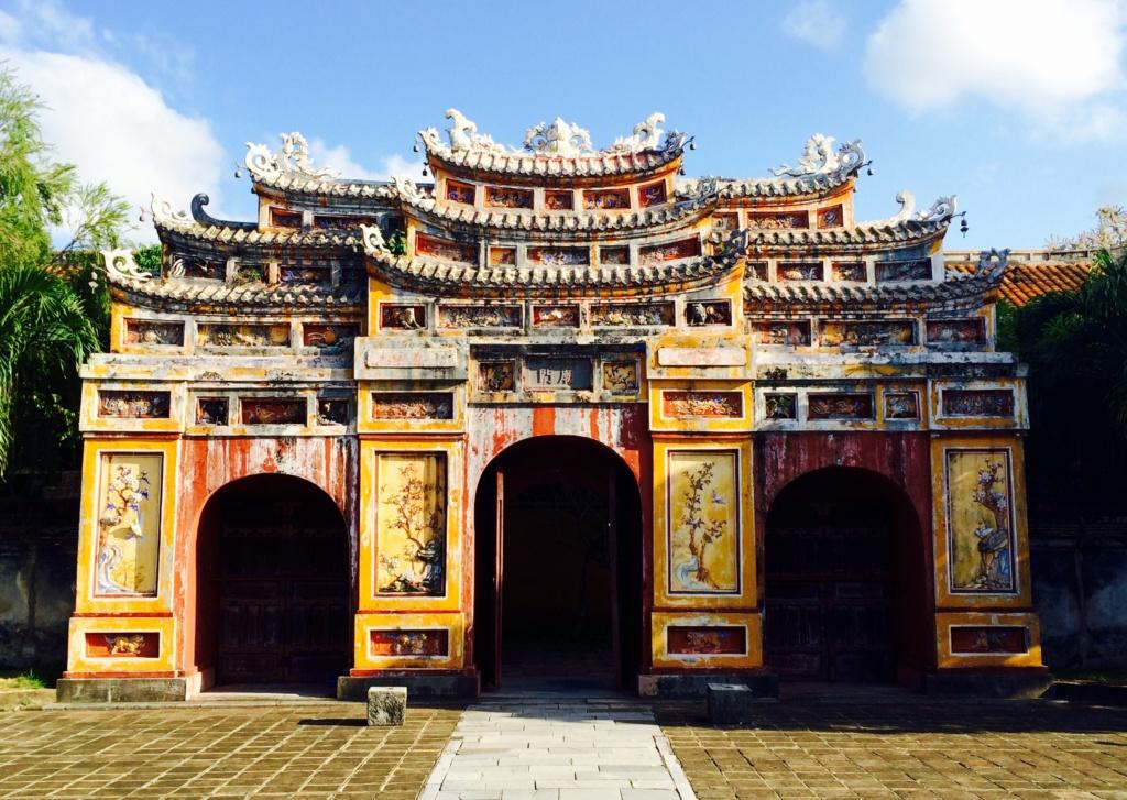 Hue Vietnam Citadel Forbidden City