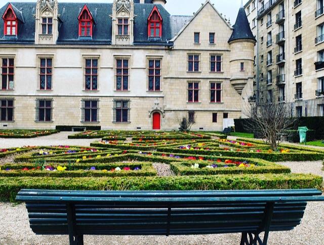 Hotel de Sens gardens Paris 75004