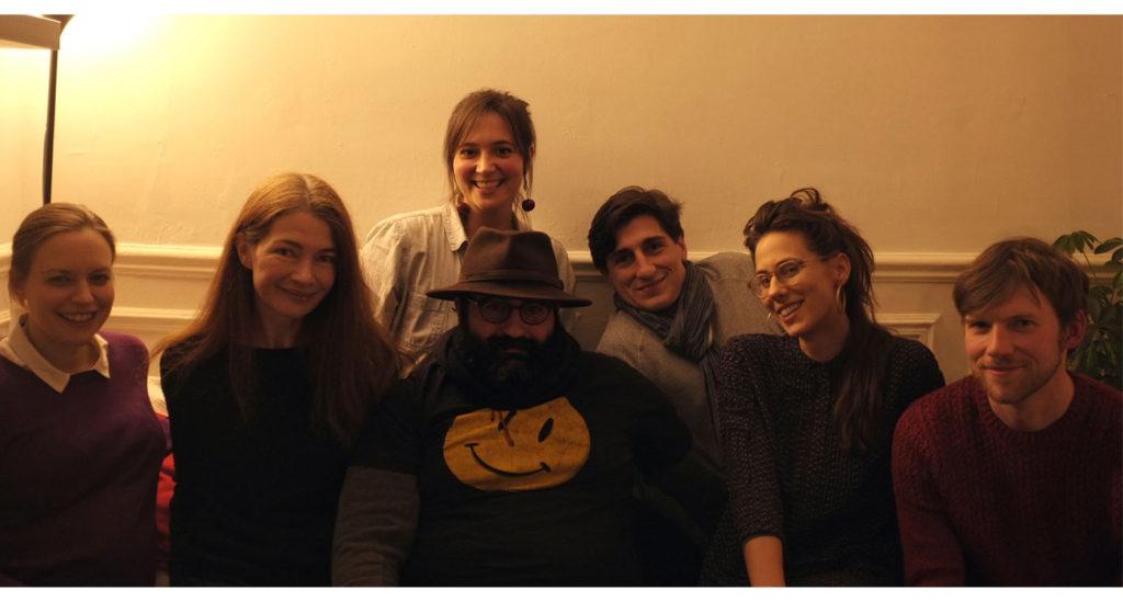 Paris Fringe Festival team