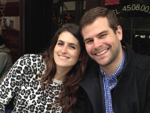 Nina and Ben Forlani