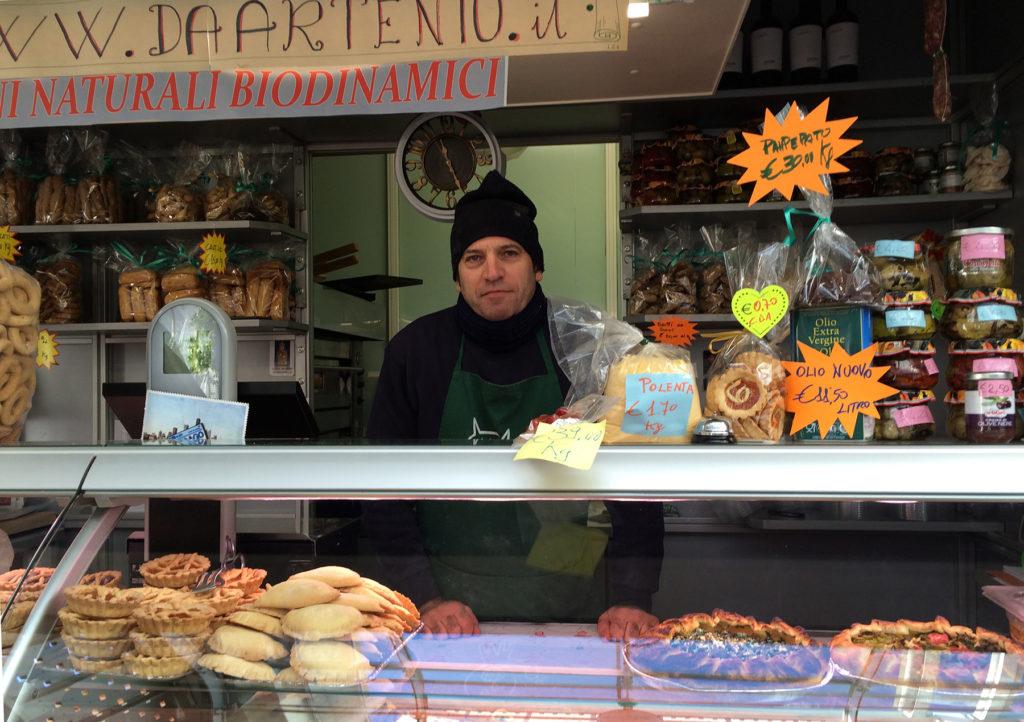 Testaccio Market Rome Italy