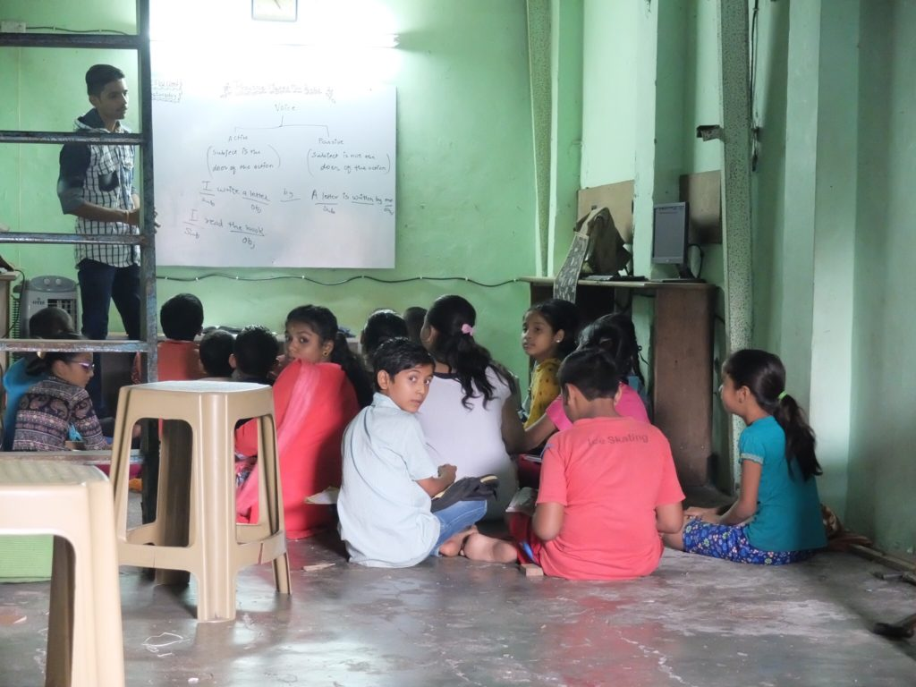 Dharavi Slum after school program with Mystical Mumbai