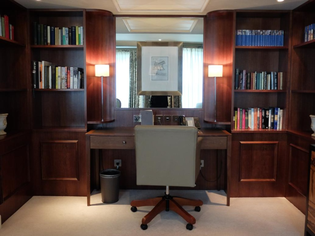 Stafford London Hotel suite office area