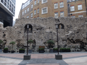 Secret Section Roman Wall London