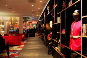 CitizenM Tower of London lounge