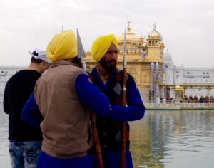 Sikhs at Golden Temple Amritsar