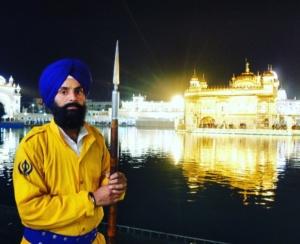 Sikh at Golden Temple Amritsar