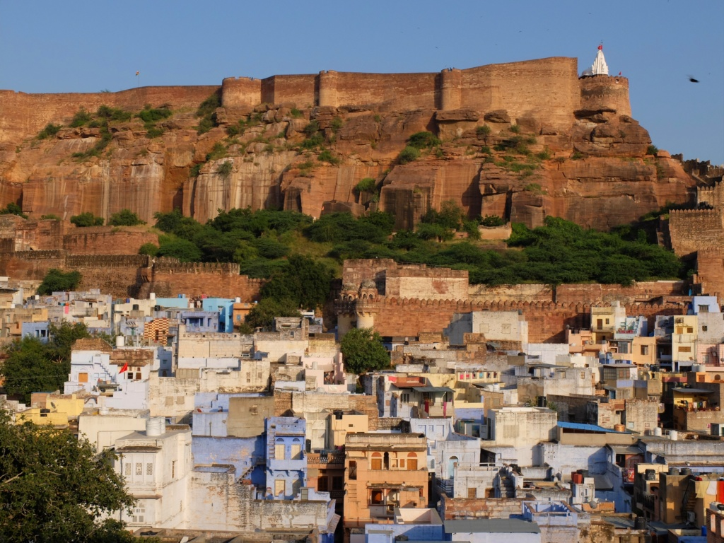 Jodhpur-view-fort