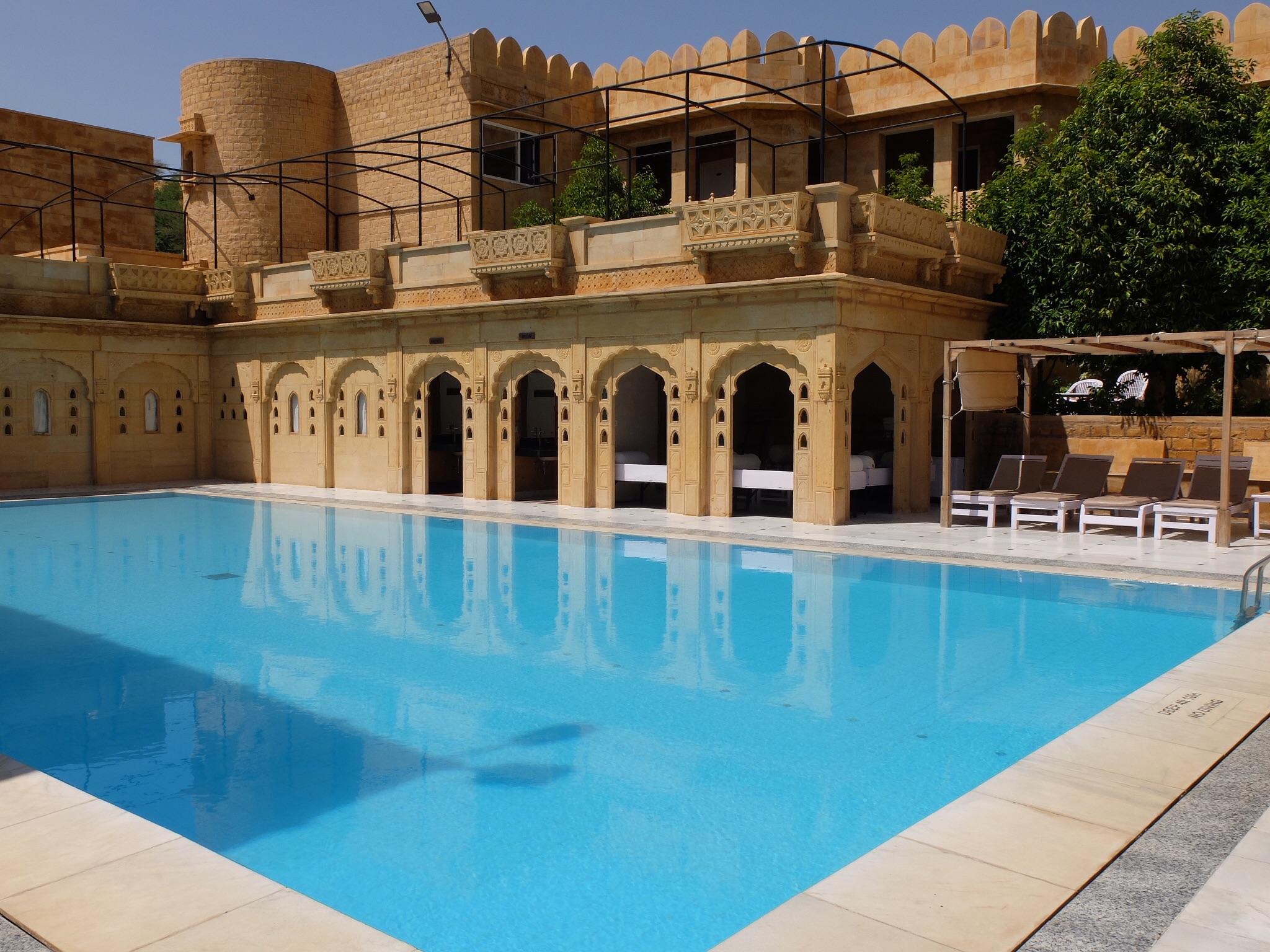 Pool Rang Mahal Hotel Jaisalmer
