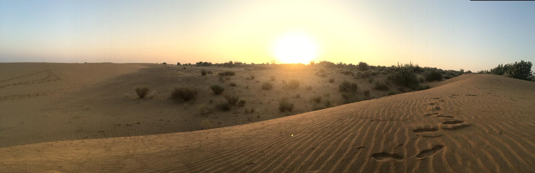 sunrise-thar-desert
