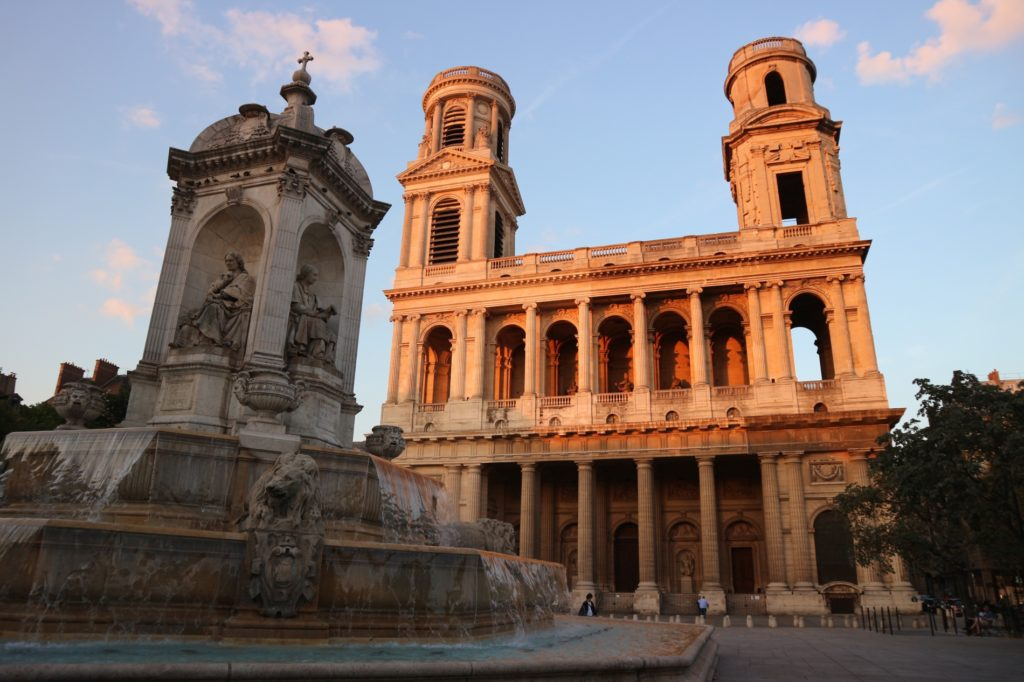 Place Saint Sulpice Paris