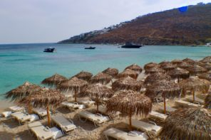 Where to Nurse a Hangover in Mykonos