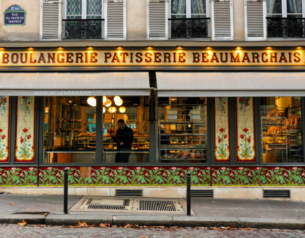Boulangerie-Beaumarchais-Paris