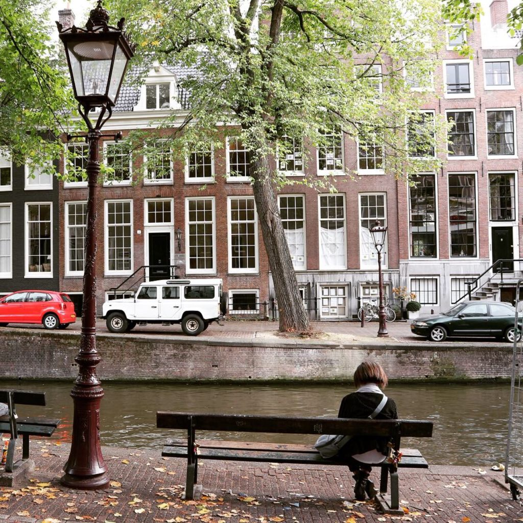 Leidsegracht bench The Fault in our stars