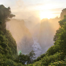 Victoria Falls at Sunrise c. Lily Heise