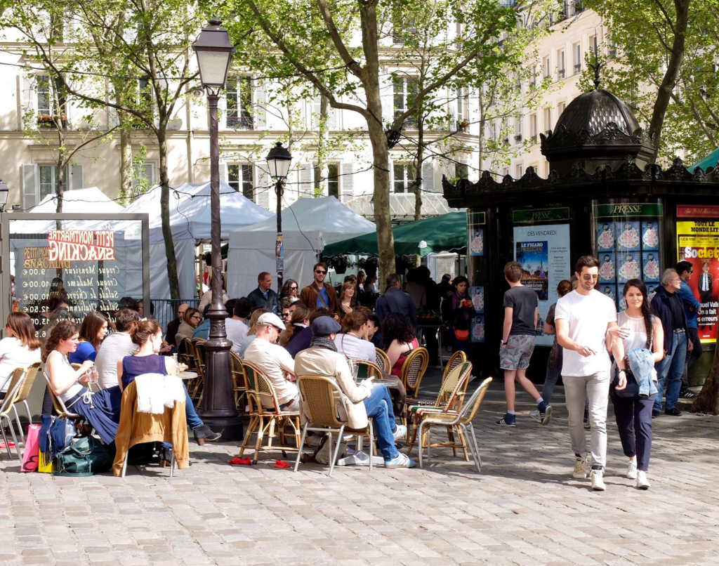 Place des Abbesses Paris