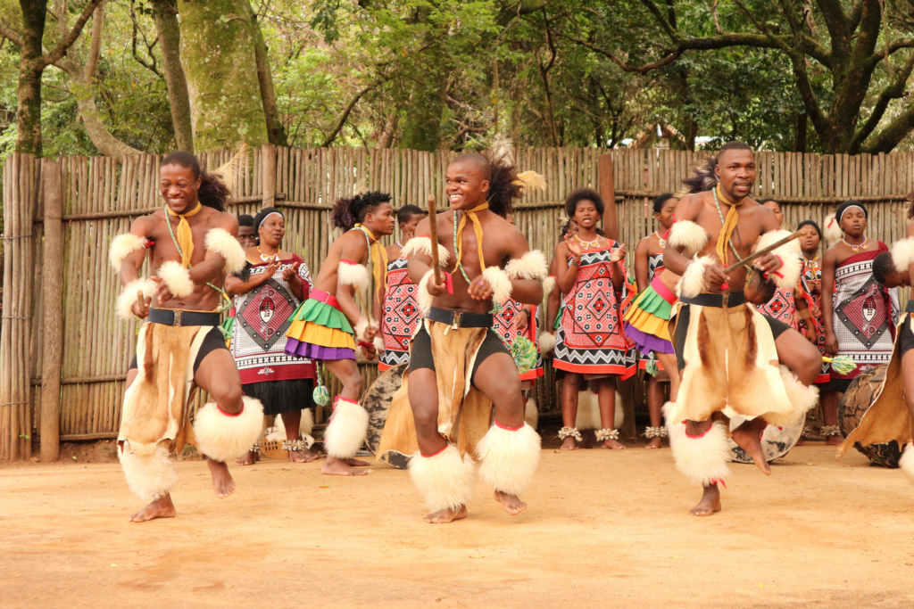 Swazi Cultural Village dance performance