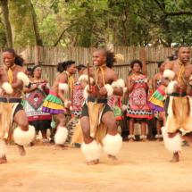 Swazi Cultural Village dance performance