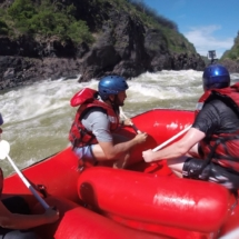 Shockwave Rafting Victoria Falls