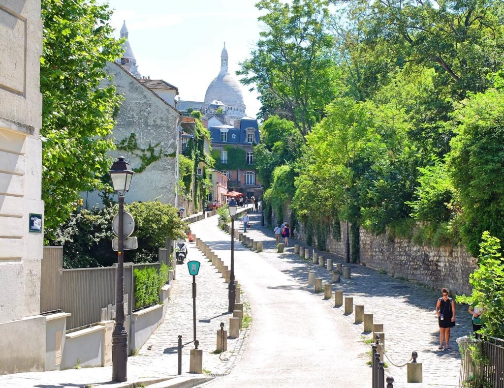 rue de l'Abreuvoir. Montmartre