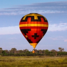 balloon safari botswana