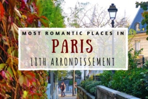 Romantic 18th arrondissement