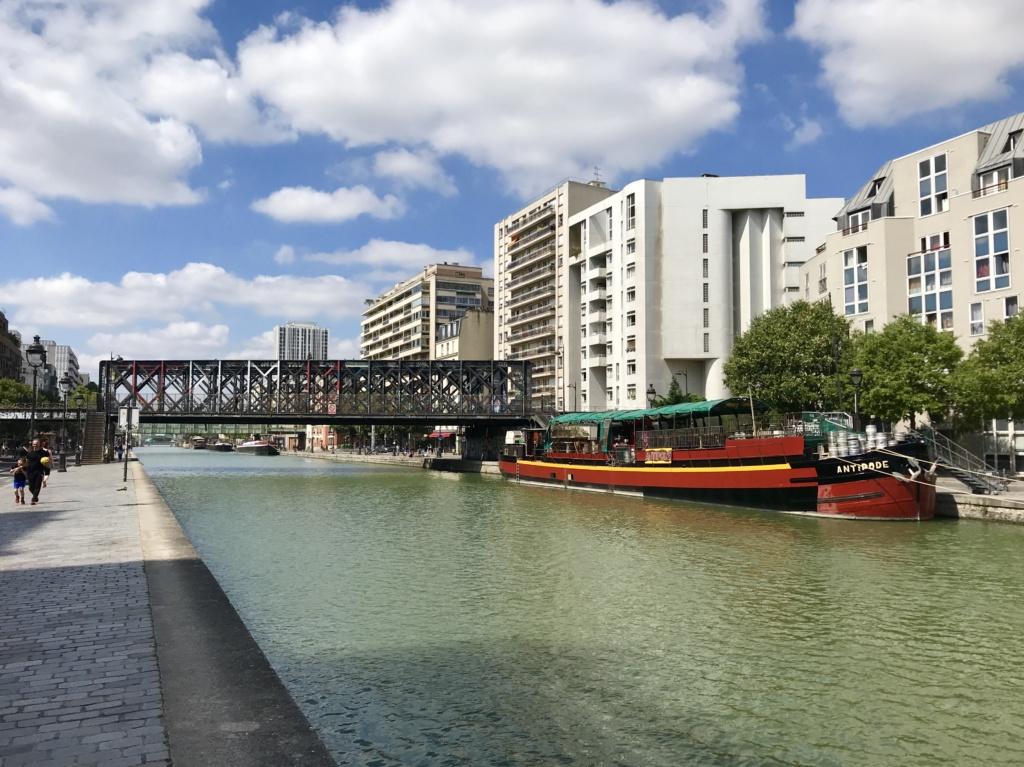 Exploring Paris' Canal de l'Ourcq
