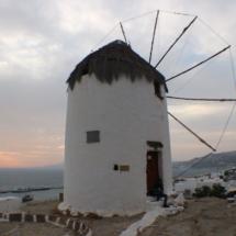 Mykonos hidden windmill
