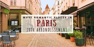 Romantic Paris 20th arrondissement